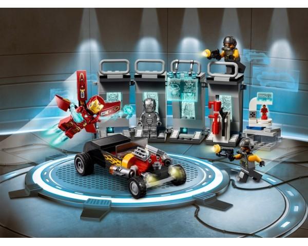 Конструктор LEGO Super Heroes 76167 Арсенал Железного человека