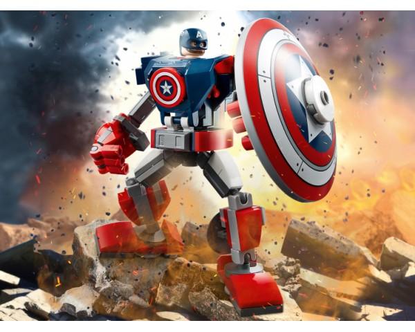 Конструктор LEGO Super Heroes 76168 Капитан Америка: Робот