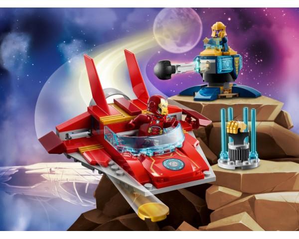 Конструктор LEGO Super Heroes 76170 Железный Человек против Таноса