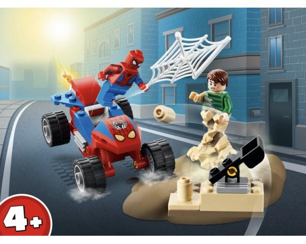 Конструктор LEGO Super Heroes 76172 Бой Человека-Паука с Песочным Человеком