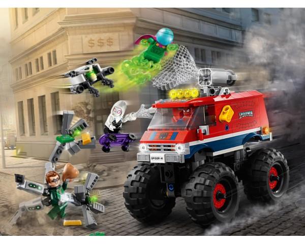 Конструктор LEGO Super Heroes 76174 Монстр-трак Человека-Паука против Мистерио