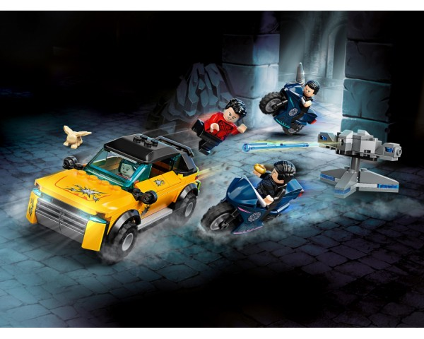 Конструктор LEGO Super Heroes 76176 Побег от Десяти колец