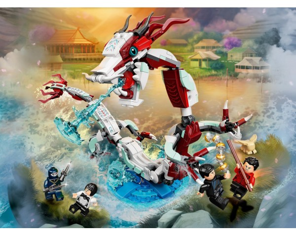 Конструктор LEGO Super Heroes 76177 Битва в древней деревне