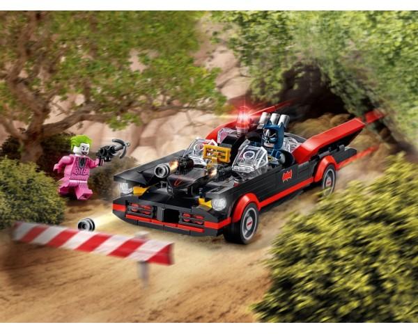Конструктор LEGO Super Heroes 76188 Бэтмобиль из классического сериала «Бэтмен»